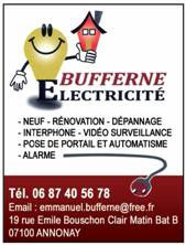 BUFFERNE ELECTRICITE