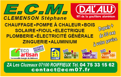ECM CLEMENSON DAL ALU FRANCHISE