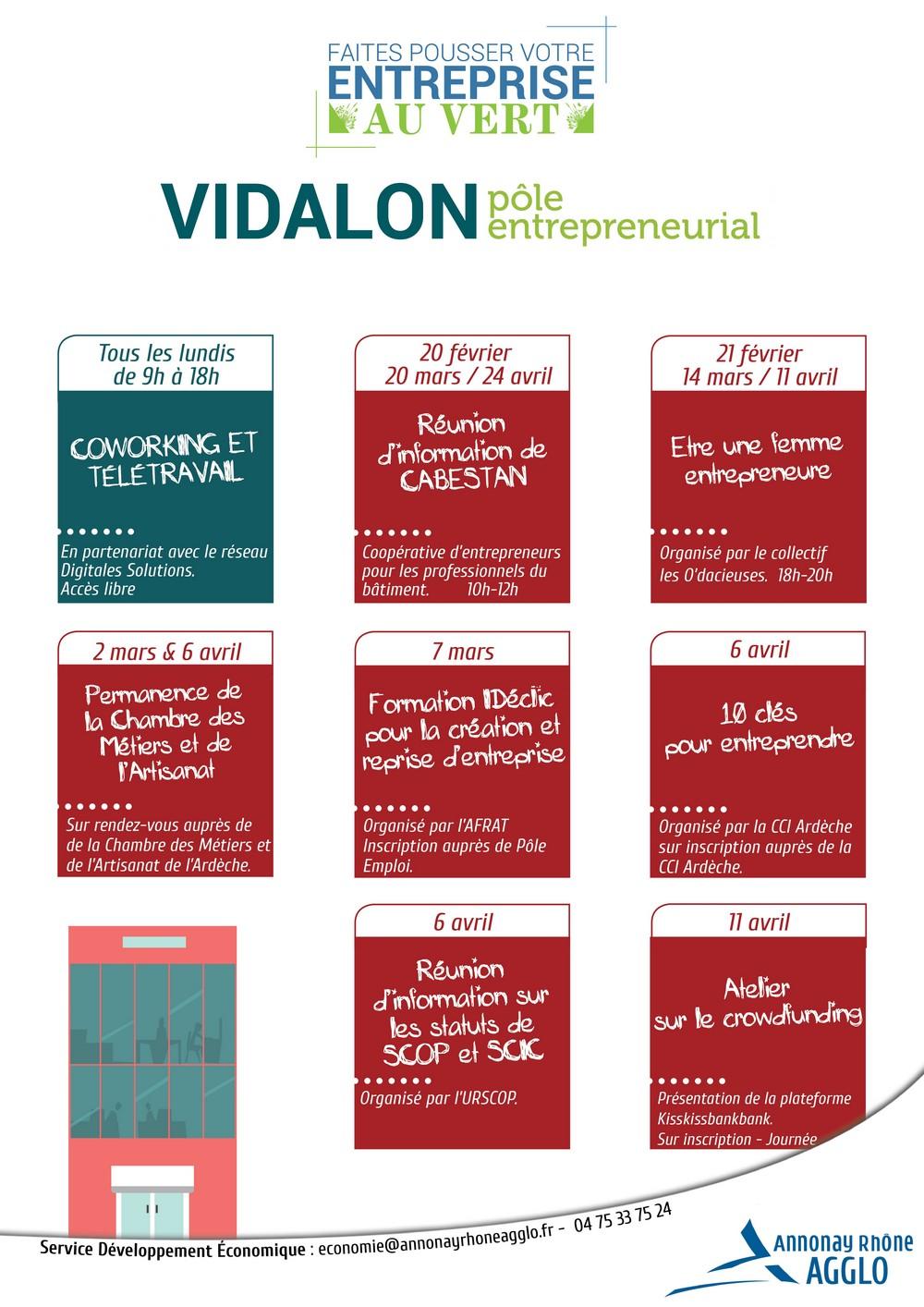 Les rendez vous de l 39 entrepreneuriat f vrier mars avril - Chambre des metiers inscription auto entrepreneur ...