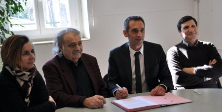 signature de la convention avec la SPA